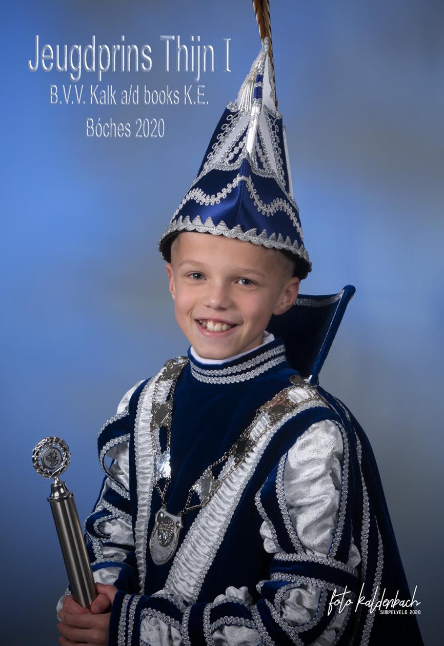Proklamatie Jeugdprins Thijn I
